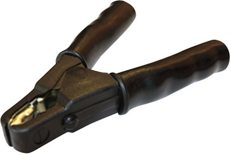 Image of SET SZ41 Laadtang 480 A Schroefaansluiting voor kabelschoentjes met M6 ringoog Zwart 1 stuks