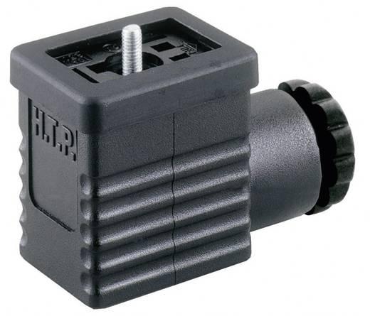 HTP M1NS2000 Klepstekker Zwart Aantal polen:2 + PE Inhoud: 1 stuks