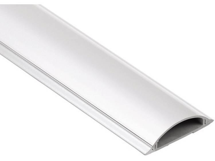 PVC-kabelkanaal, halfrond (l x b x h) 1000 x 70 x 21 mm Wit Hama Inhoud: 1 stuks