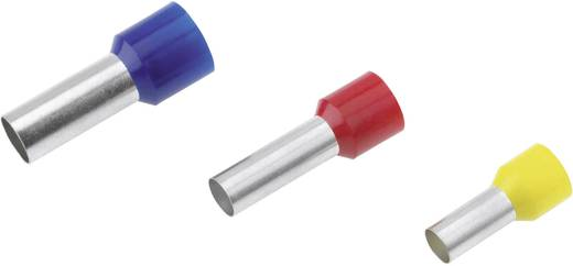 Cimco 18 0999 Adereindhulzen 1 x 0.50 mm² x 10 mm Deels geïsoleerd Wit 100 stuks