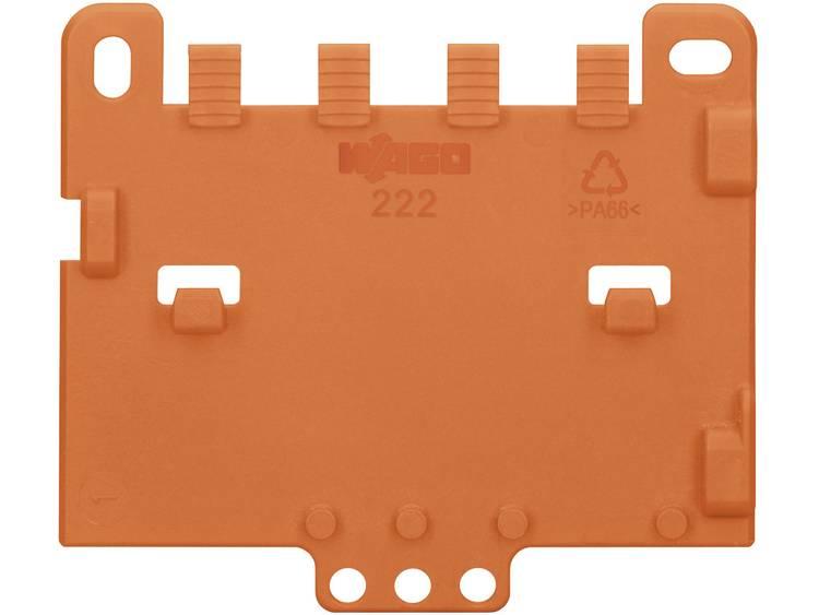 WAGO 222-505 Trekontlastingsplaat Oranje 1 stuks