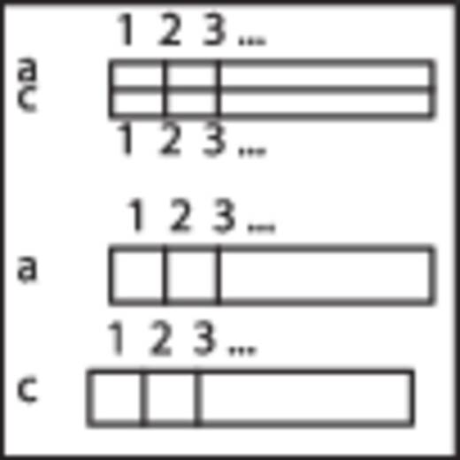 WAGO 289-426 Overdrachtsmodule voor stekker conform DIN 41 612 0.08 - 2.5 mm² Aantal polen: 64 Inhoud: 1 stuks