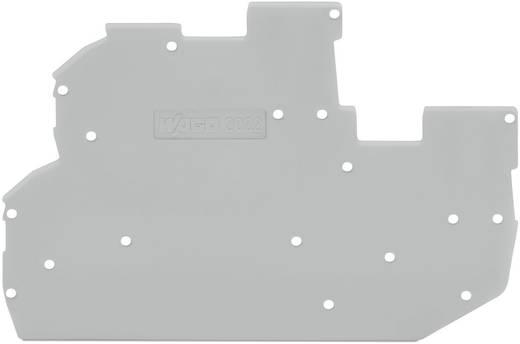 WAGO AFSLUITPLAAT GREY 2022-2291 End and intermediate plate 1 stuks