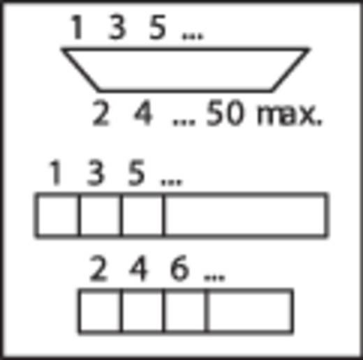WAGO 289-443 Overdrachtsmodule D-SUB-stiftstrook 0.08 - 2.5 mm² Aantal polen: 37 Inhoud: 1 stuks