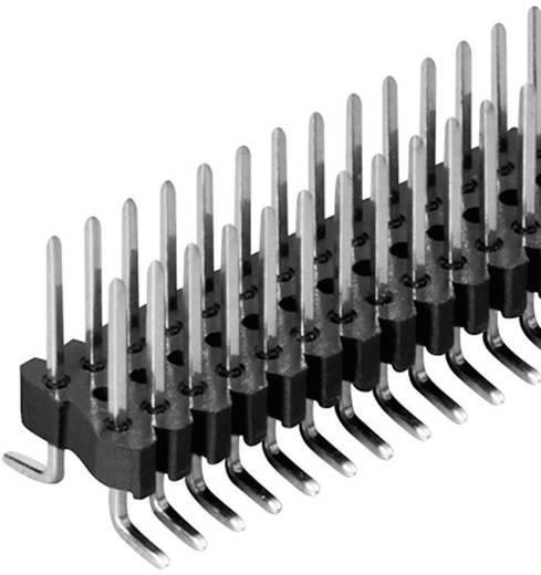 Male header (standaard) Aantal rijen: 2 Aantal polen per rij: 20 Fischer Elektronik SLV W 2 SMD 048/ 40/Z 1 stuks