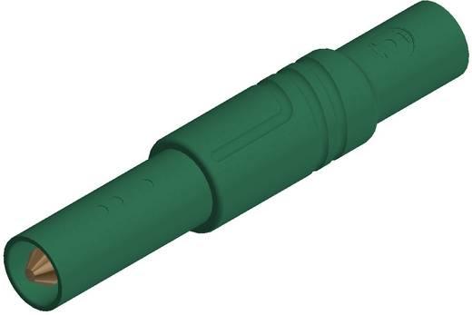 SKS Hirschmann LAS S G Veiligheids-lamelstekker, male Stekker, recht Stift-Ø: 4 mm Groen 1 stuks