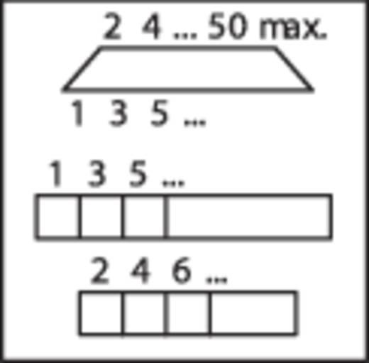 WAGO 289-452 Overdrachtsmodule D-SUB-bussenstrook 0.08 - 2.5 mm² Aantal polen: 25 Inhoud: 1 stuks