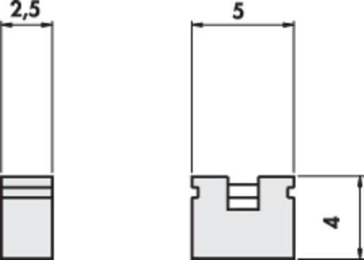 Fischer Elektronik CAB 6 05 G R Kortsluitingsbrug Rastermaat: 2.54 mm Aantal polen:2 Inhoud: 1 stuks