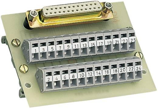 WAGO Overdrachtsmodule D-SUB-bussenstrook 0.08 - 2.5 mm² Aantal polen: 25 Inhoud: 1 stuks