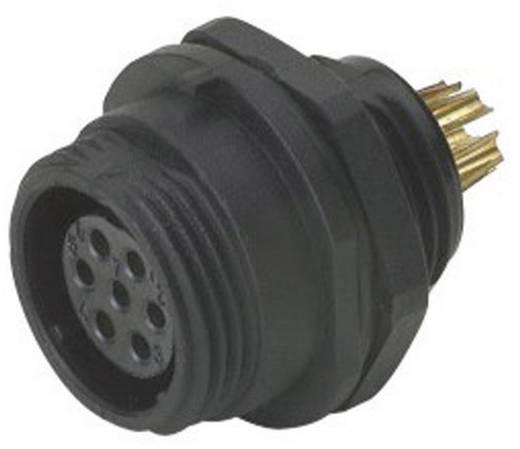 IP68-connector serie SP13 Apparaatbus voor frontmontage Weipu SP1312 / S 6 IP68 Aantal polen: 6