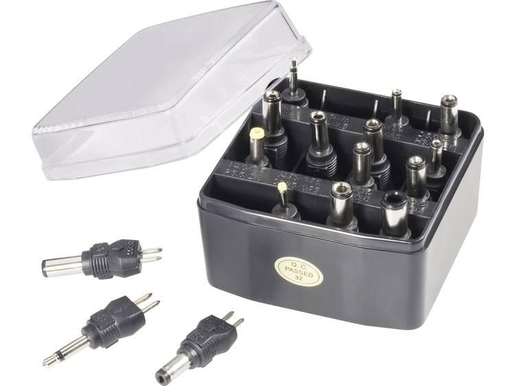 VOLTCRAFT 93027c4 Netvoeding-adapter set 16-delig -