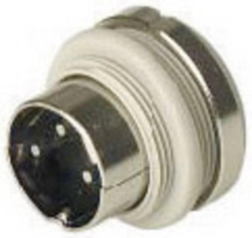 Hirschmann MASEI 6100 DIN-connector Stekker, inbouw verticaal Aantal polen: 6 Grijs 1 stuks