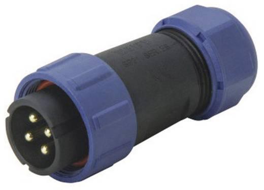 IP68 connector serie SP2110 / P 5B II Kabelstekker Weipu SP2110 / P 5B II IP68 Aantal polen: 5B