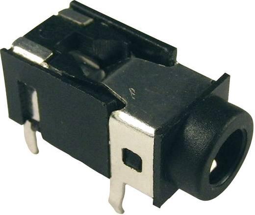 Jackplug 3.5 mm Bus, inbouw horizontaal Cliff FC68125 Stereo Aantal polen: 4