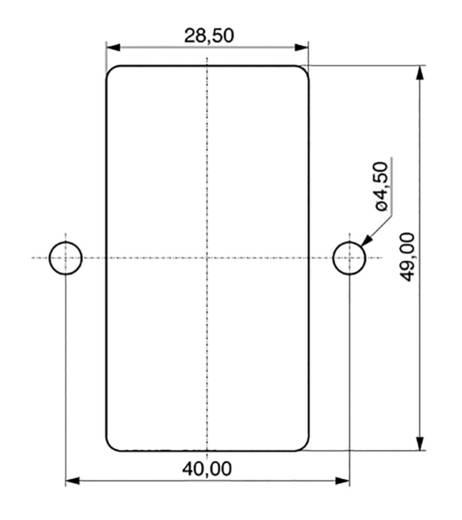 Apparaatstekker C14 Serie (connectoren) 42R Stekker, inbouw verticaal Totaal aantal polen: 2 + PE 10 A Zwart K & B 59JR1
