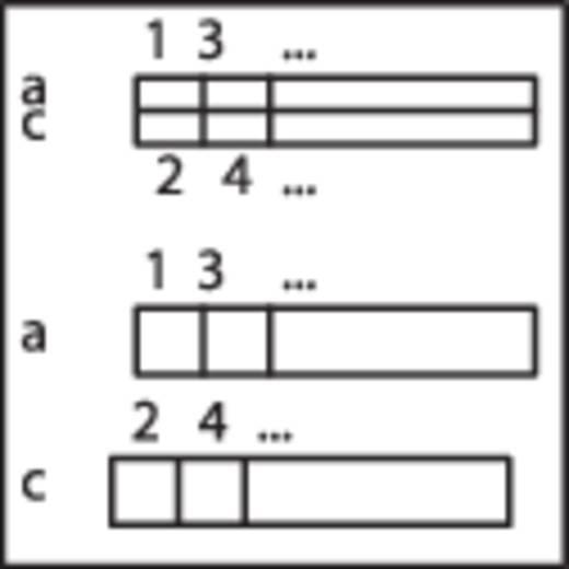 WAGO 289-522 Overdrachtsmodule voor stekker conform DIN 41 612 0.08 - 2.5 mm² Aantal polen: 64 Inhoud: 1 stuks