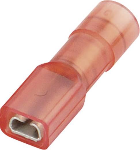 Vogt Verbindungstechnik Vlakstekker Insteekbreedte: 2.8 mm Insteekdikte: 0.8 mm 180 ° Volledig geïsoleerd Rood 1 stuks