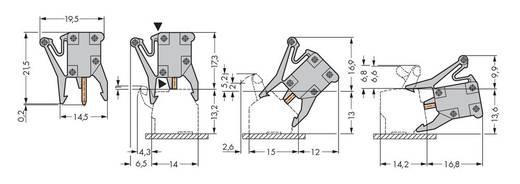 WAGO 249-112 Testadapter 100 stuks