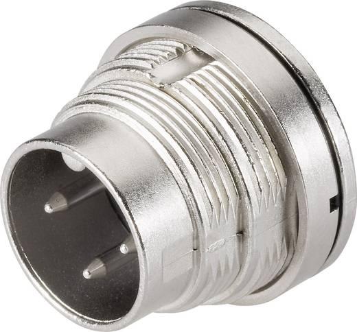 Ronde miniatuurstekker serie 723 Flensstekker Binder 09-0127-80-07 IP67 Aantal polen: 7