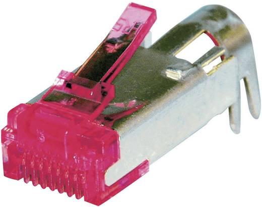 RJ45 connector CAT 6 en toebehoren, TM21 Stekker, recht Aantal polen: 8P8C TM21P-TM-88P(60) Zilver Hirose Electronic TM