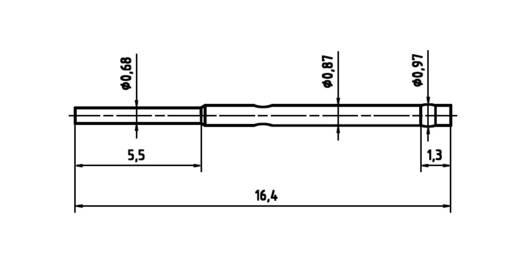 PTR H 1007 C Huls voor precisiemeetpennen serie 1007 met veercontact