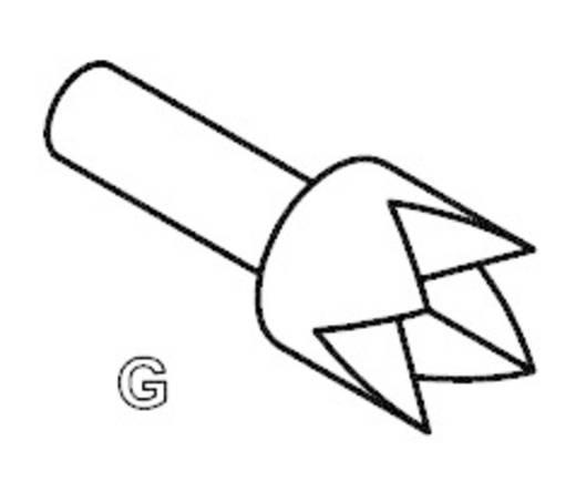 PTR 2021-G-1.5N-NI-1.3 Precisietestpen voor printplaatcontrole met veercontact