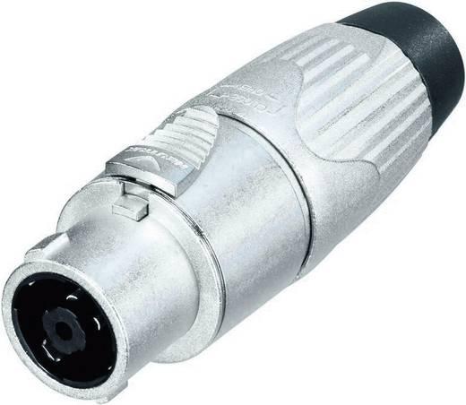 Neutrik NLT8FX Luidsprekerconnector Stekker, recht Aantal polen: 8 Zilver 1 stuks