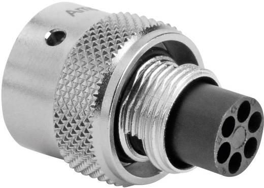 Kabelsteker - serie RT360 Kabelstekker Nominale stroom (details): 5 A Aantal polen: 6 RT0610-6PNH Amphenol Inhoud: 1 stu
