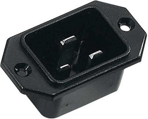 Apparaatstekker C20 Serie (connectoren) 42R Stekker, inbouw verticaal Totaal aantal polen: 2 + PE 16 A Zwart K & B 42R08