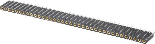 Female connector (precisie) Aantal rijen: 1 Aantal polen per rij: 36 W & P Products 153-036-1-50-10 1 stuks