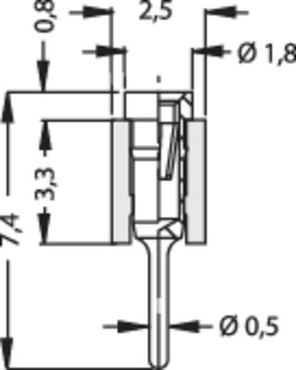 Female header (precisie) Aantal rijen: 1 Aantal polen per rij: 50 Fischer Elektronik MK 01/ 50/Z 1 stuks