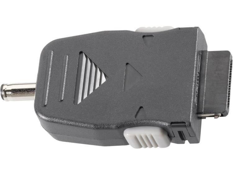 Adapter voor auto-laadkabel, geschikt voor Samsung gsms Zwart VOLTCRAFT
