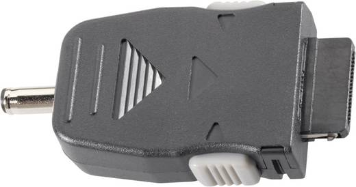 Adapter voor auto-laadkabel, geschikt voor Samsung gsm's Zwart VOLTCRAFT