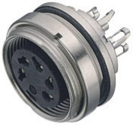 Miniatuur ronde stekker serie 723 Aantal polen: 3 DIN Plattedoos 7 A 09-0108-80-03 Binder 1 stuks