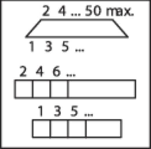WAGO Overdrachtsmodule D-SUB-bussenstrook Aantal polen: 25 Inhoud: 1 stuks