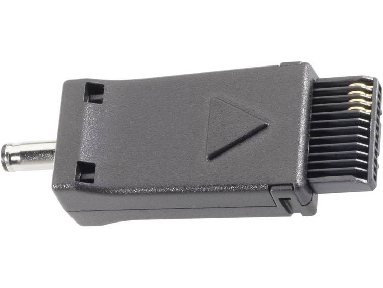 Adapter voor auto-laadkabel, geschikt voor Siemens gsm's Zwart VOLTCRAFT
