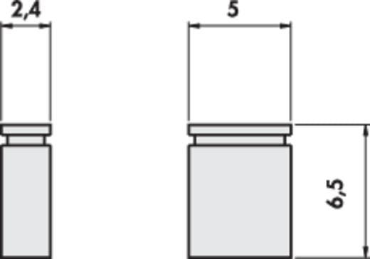Fischer Elektronik CAB 4 G R Kortsluitingsbrug Rastermaat: 2.54 mm Aantal polen:2 Inhoud: 1 stuks