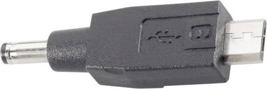 Adapter voor auto-laadkabel, geschikt voor Apparaten met micro USB-aansluiting Zwart VOLTCRAFT
