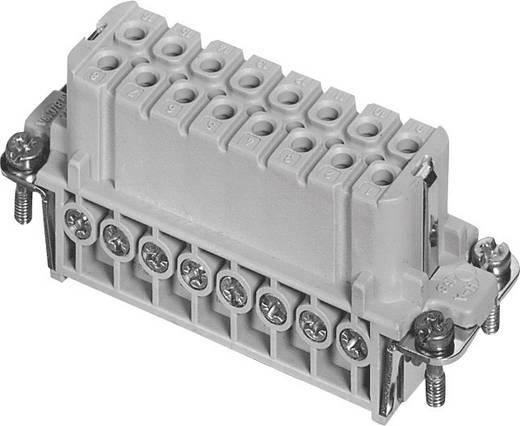 Businzetstuk Verzilverde contacten Amphenol C146 10B016 002 4 1 stuks