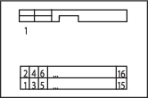 WAGO Overdrachtsmodule voor bandkabelstekker 0.08 - 2.5 mm² Aantal polen: 16 Inhoud: 1 stuks