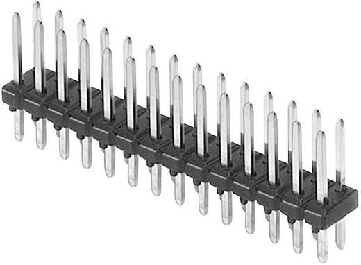 Male header (standaard) Aantal rijen: 2 Aantal polen per rij: 3 W & P Products 944-13-006-00 1 stuks