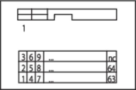 WAGO 289-616 Overdrachtsmodule voor bandkabelstekker 0.08 - 2.5 mm² Aantal polen: 34 Inhoud: 1 stuks
