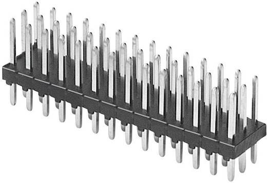Male header (standaard) Aantal rijen: 3 Aantal polen per rij: 32 W & P Products 945-12-096-00 1 stuks