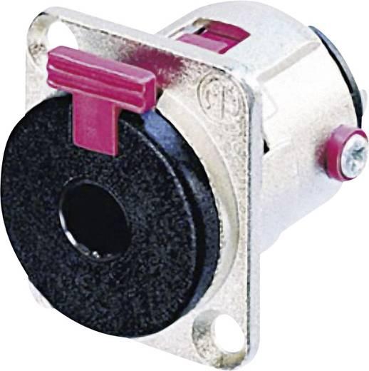 Jackplug 6.35 mm Flensbus, contacten recht Neutrik NJ3FP6C Stereo Aantal polen: 3