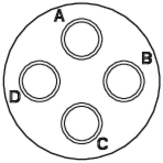 Kabelconnector-bus - serie RT360 Nominale stroom (details): 23 A / 13 A Aantal polen: 4 RT0614-4SNH Amphenol