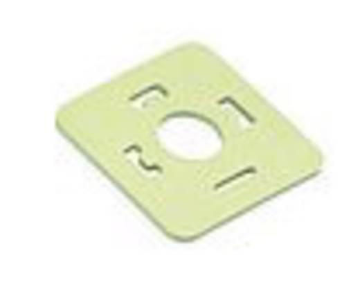 Binder 16-8085-000 Vlakke afdichting voor magnetische klepconnector model A serie 120 Beige Inhoud: 1 stuks