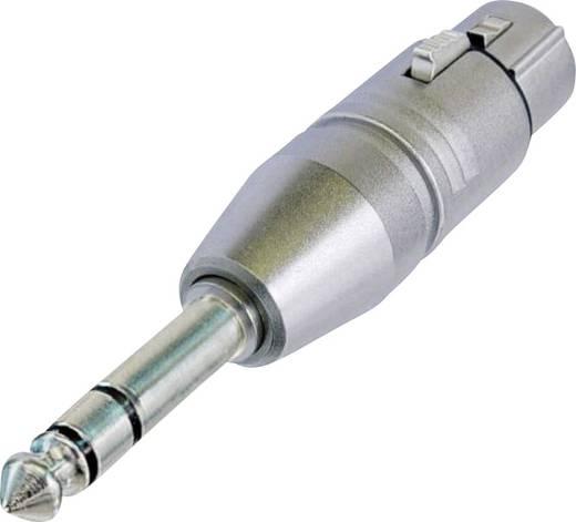 XLR-adapter XLR-bus - Jackplug male 6.3 mmStereoNeutrikNA3FP1 stuks