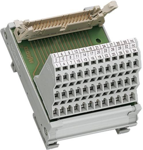 WAGO 289-615 Overdrachtsmodule voor bandkabelstekker 0.08 - 2.5 mm² Aantal polen: 26 Inhoud: 1 stuks