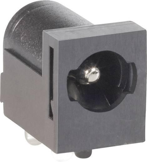 BKL Electronic 075823 Laagspannings-connector Soort schakelcontact: NO Bus, inbouw horizontaal 5.5 mm 2.5 mm 1 stuks