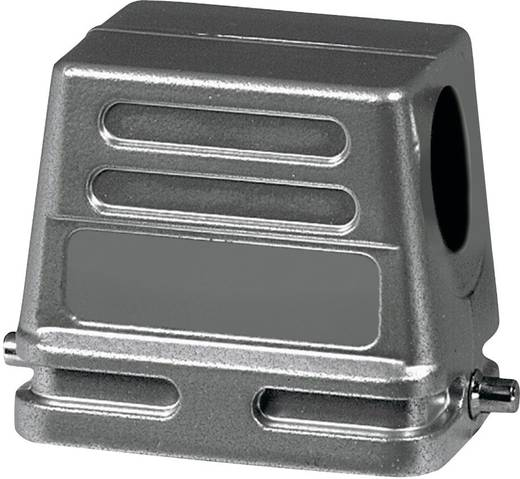 Afdekkap 2 schuinverbinders, 1 kabel uitgang zijkant, Lage bouwvorm Amphenol C146 10G010 500 1 1 stuks